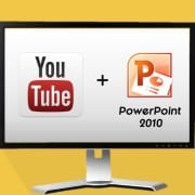 """How to Embed a YouTube Video in PowerPoint 2010"""