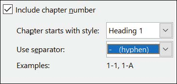 How to add page numbers in word with page number format dialog box