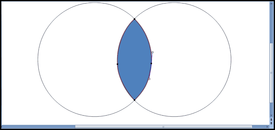 How To Make The Overlapping Part Of A Venn Diagram In Powerpoint
