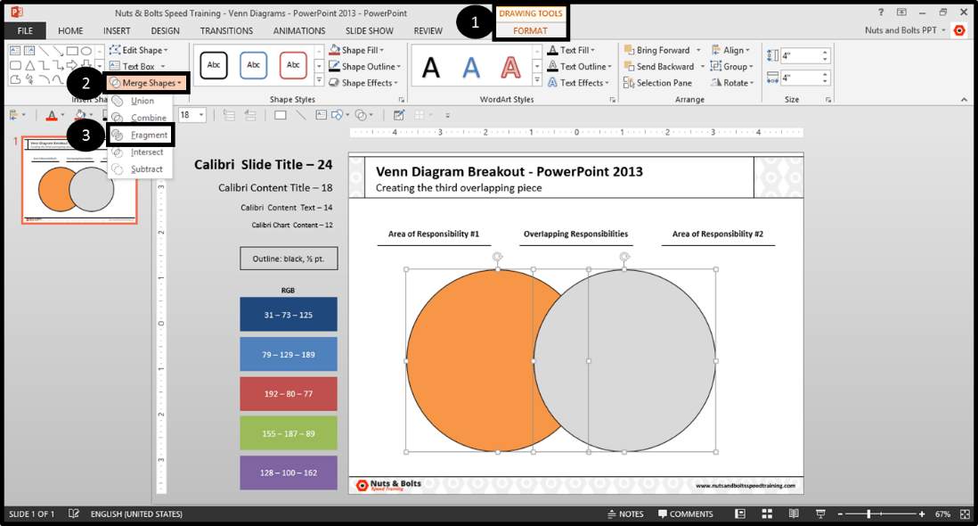 How To Do A Venn Diagram In Powerpoint Leoncapers