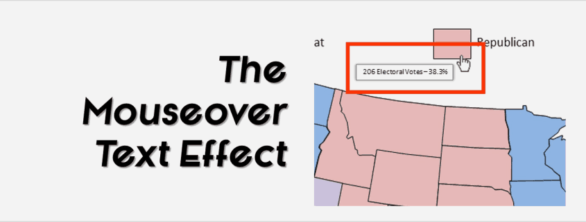 """How To Create A Mouseover Text Effect In Your PowerPoint Presentation"""