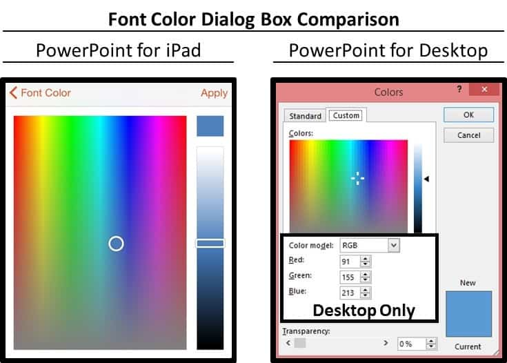 PowerPoint for iPad Custom Color Copy and Apply - Intro 2