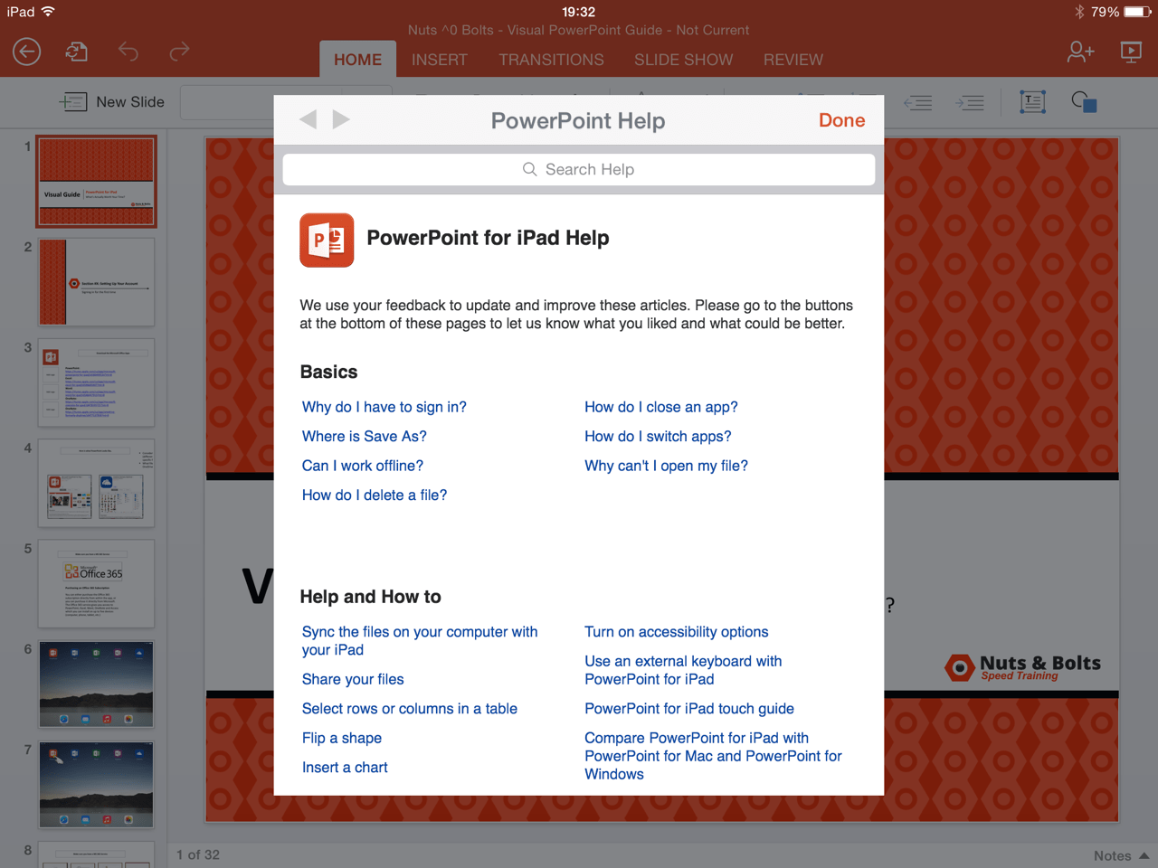 Powerpoint for ipad a visual guide the toneelgroepblik Image collections