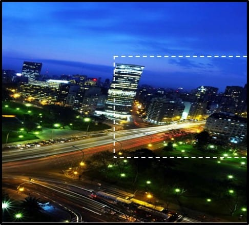 PowerPoint Animation City Night Scene Part 1 Step #1A