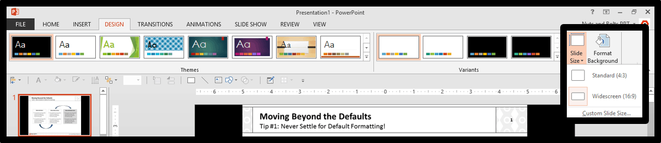 Protecting Your PowerPoint Presentation - Long Step #9