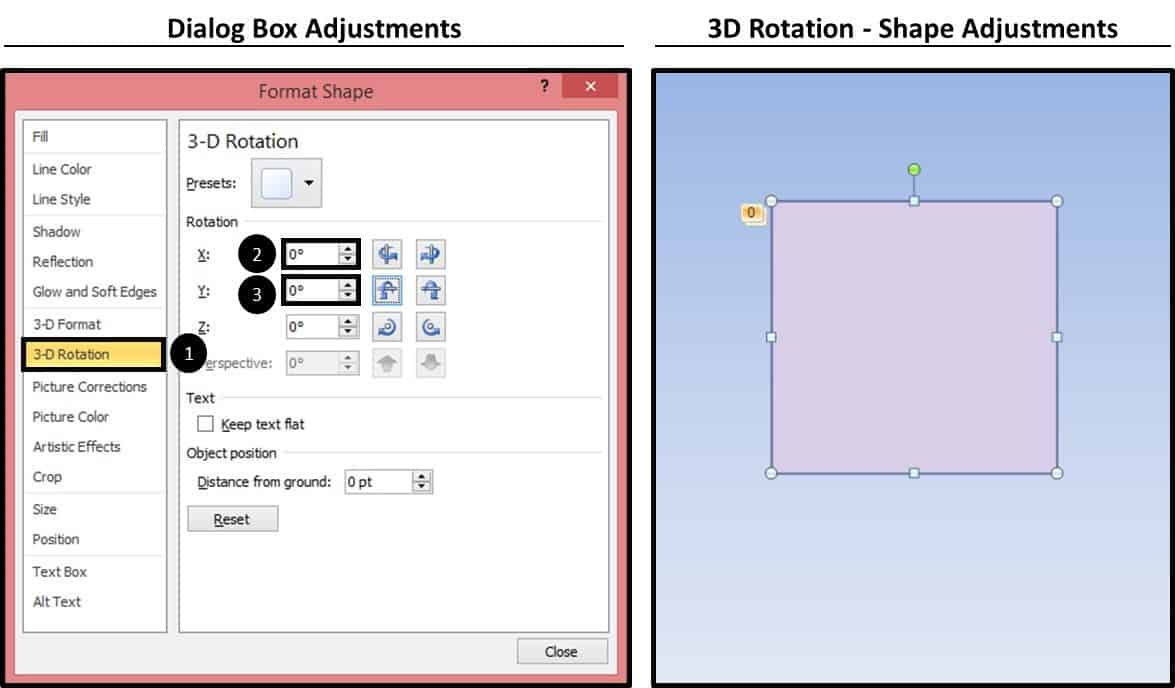 how to rotate 3d shapes with powerpoint animations – nuts & bolts, Powerpoint templates