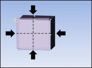 PowerPoint 3D Spinning Objects Part 3 Step #4 - Place the Object