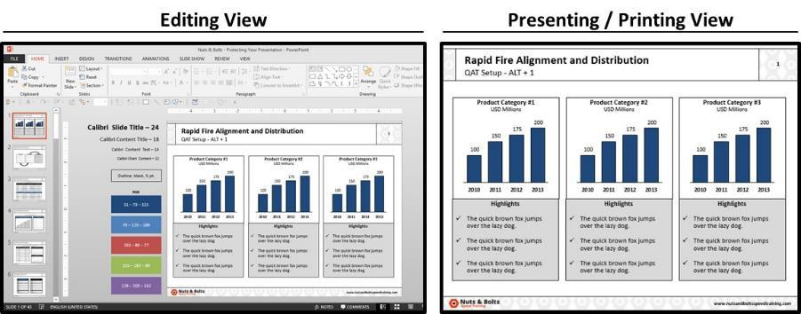 PowerPoint Best Practices - Formatting Guides #4 - They Show Up Everywhere