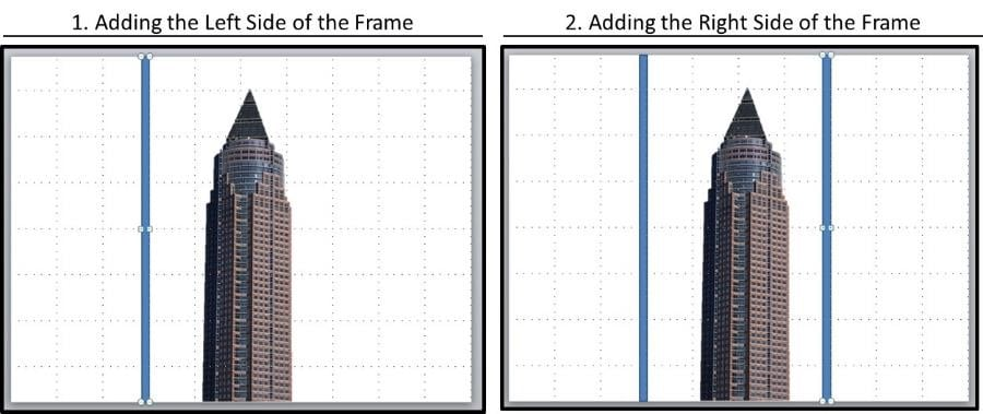 PowerPoint Reveal Animation Trick Part 2 Step #2B - Frame Picture