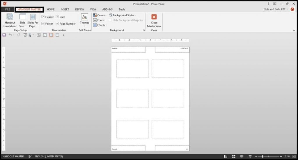 Default-PowerPoint-2013-Notes-Master-View