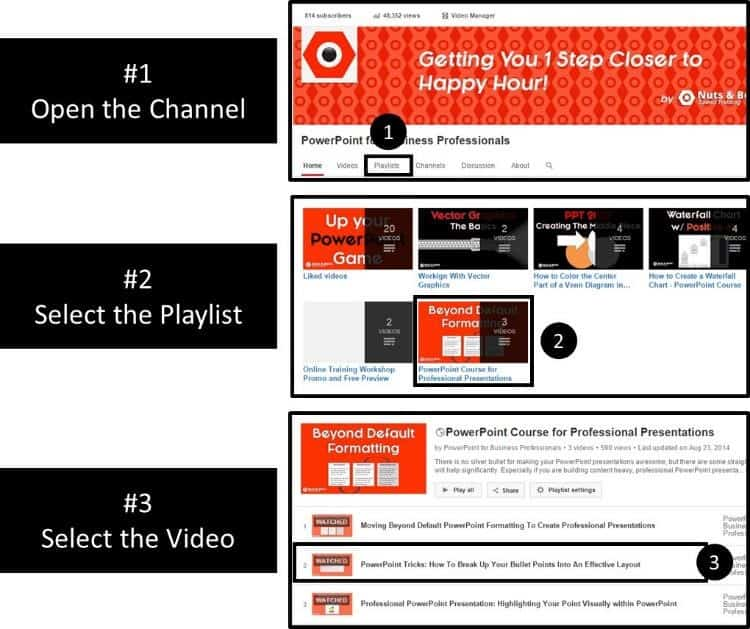 """Embed YouTube Playlist - Step #1A - Navigate to the playlist on YouTube"""