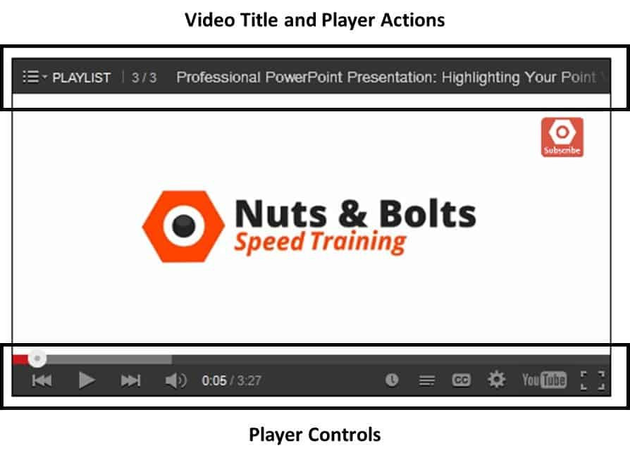 """Embedding YouTube PowerPoint 2010 - Step #3B - Display options examples"""