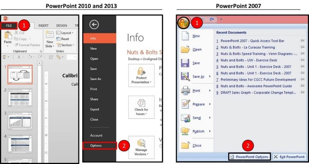 Hammer-Tool-Installation-Part-1-Step-1-PowerPoint-Options