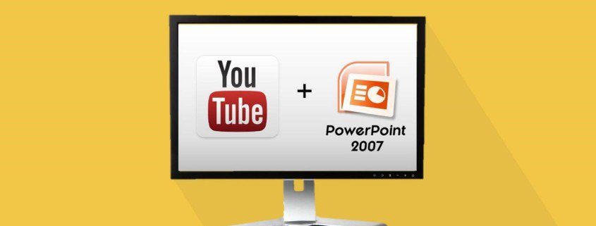"""How to Embed a YouTube Video in PowerPoint 2007"""