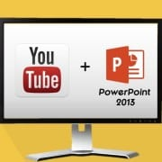"""How to Embed a YouTube Video in PowerPoint 2013"""