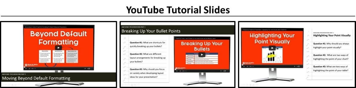 Youtube Into PowerPoint - Slide Giveaway