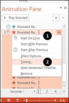 Interactive Trigger Animation Step 3 Create the Triggers -8