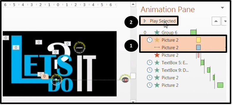 PowerPoint 2013 Upgrade #3 - Animation Preview Option 1