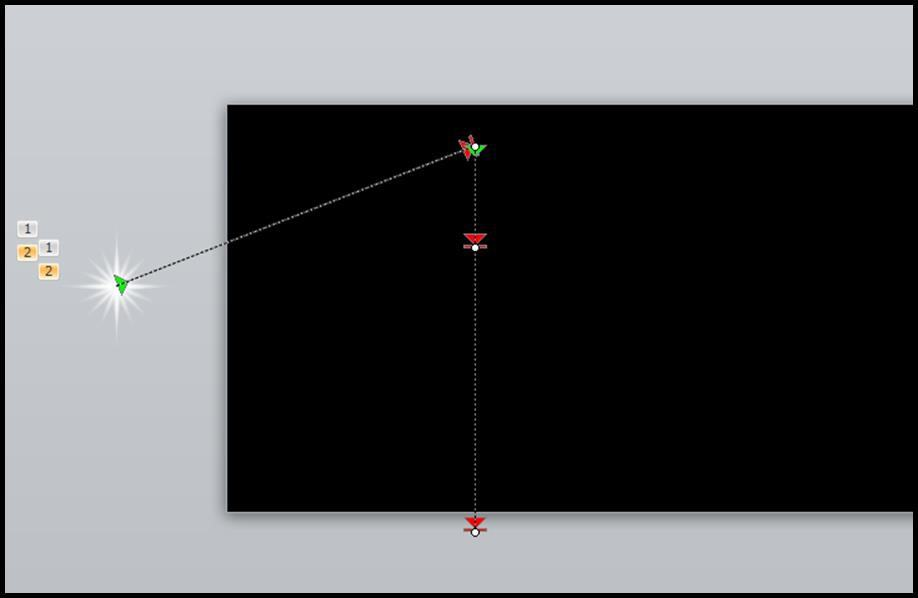 Shooting Star Animation Step 3 - Custom Option 2 - Zig Zag 3