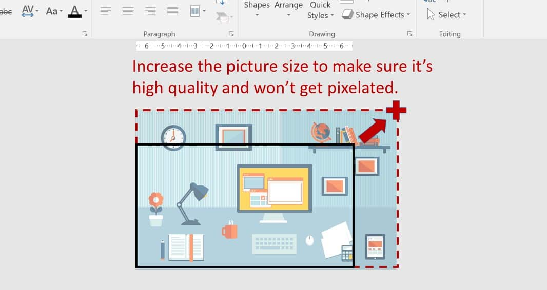 PowerPoint Morph Example Step 1.1