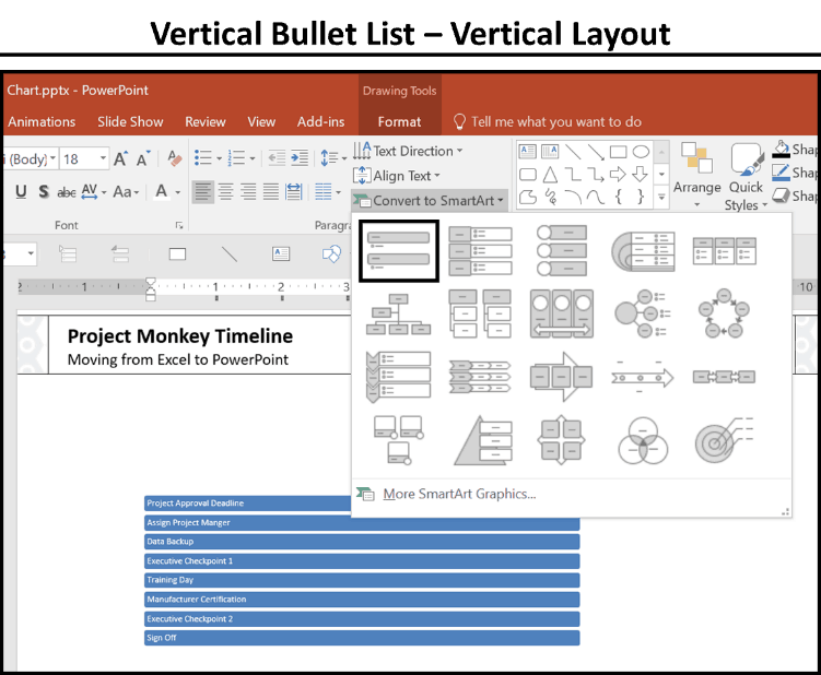 2 crazy fast ways to make a gantt chart in powerpoint nuts bolts