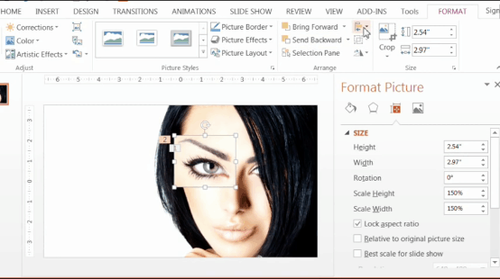 powerpoint-zoom-step-1-12-resize-the-bigger-eye-perfectly