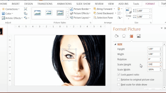 PowerPoint-Zoom-Step-1.11-scale-the-height-to-150