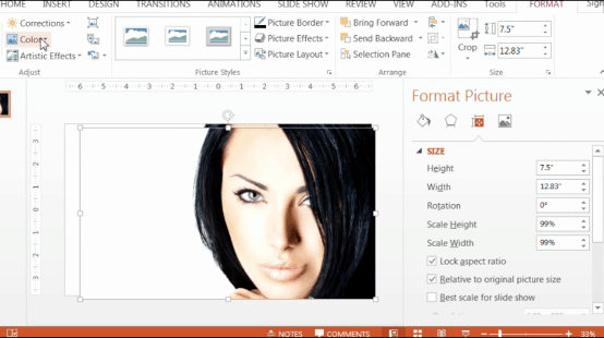 PowerPoint-Zoom-Step-1.13-navigate-to-the-color-options