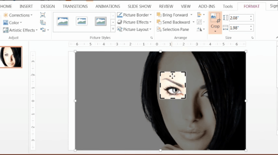 PowerPoint-Zoom-Step-1.5-Crop-down-to-the-eye