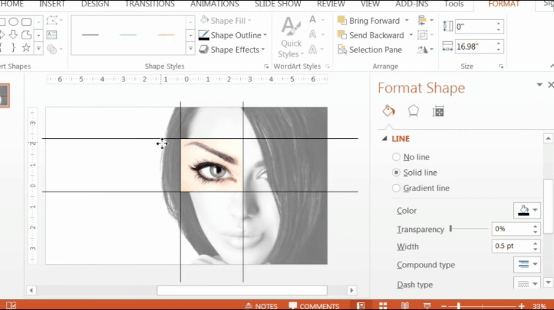 PowerPoint-Zoom-Step-2.3-create-overlapping-lines