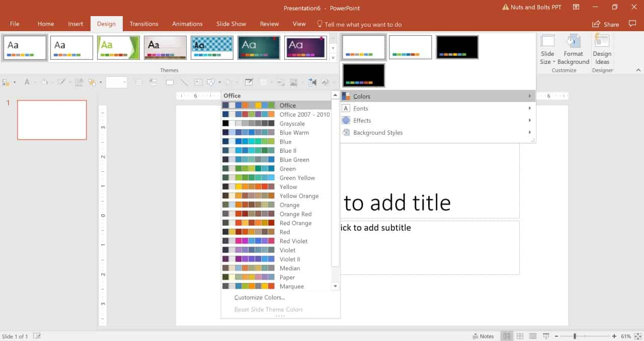 powerpoint themes 2018
