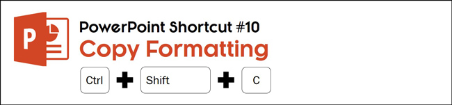 Select an object and hit control plus shift plus C to copy it's formatting