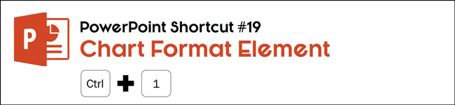 Select an element of your chart in PowerPoint and hit control plus 1 to open its formatting options