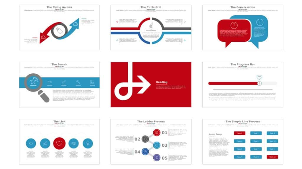 Professional Powerpoint Templates | Powerpoint Template Review Sleek By Slidecow Nuts Bolts Speed