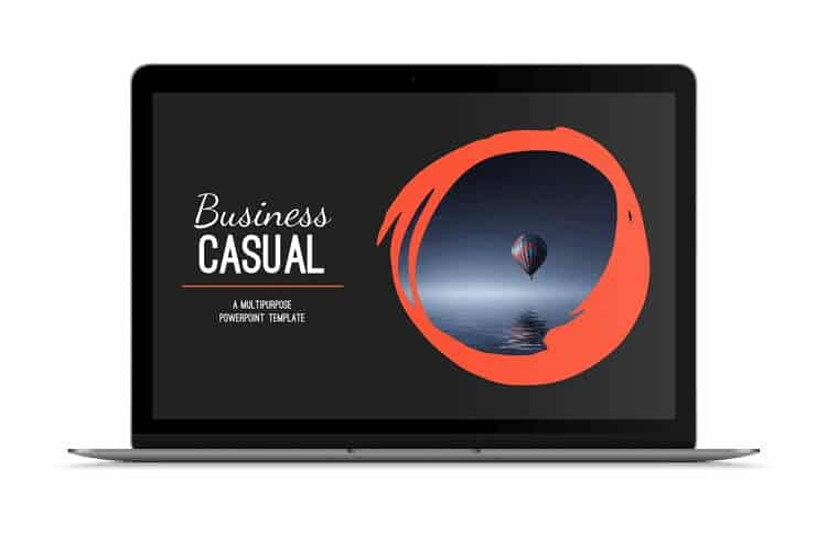 Powerpoint Template Review The Business Casual Template By Slidecow