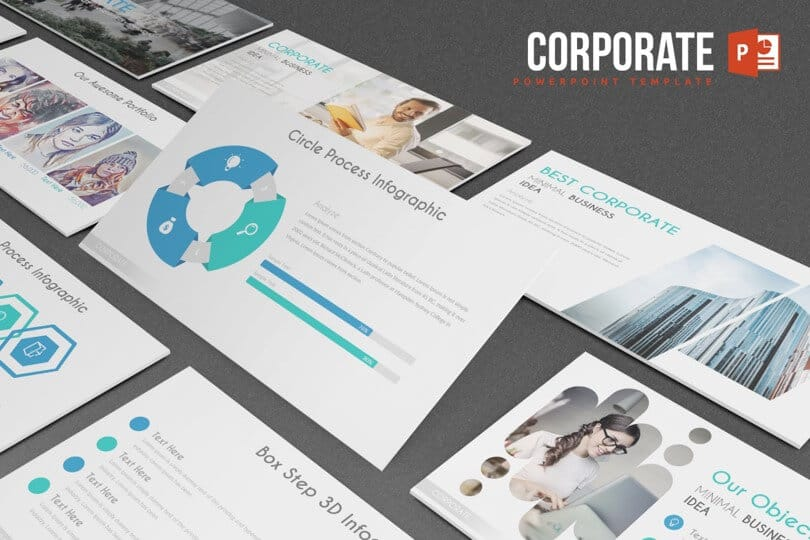 Powerpoint Template Review Corporate By Inspiradesign Nuts