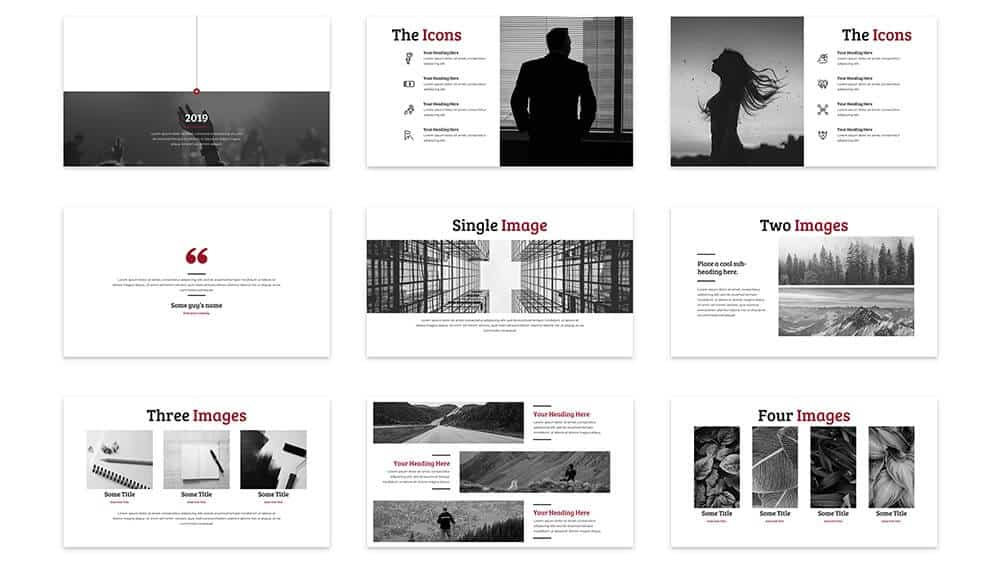 Example 2 of the slides in the Reem PowerPoint template by SlideCow