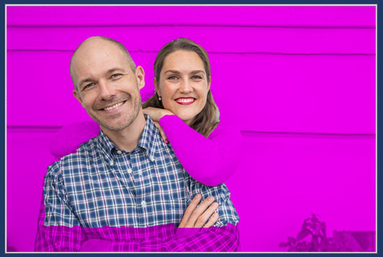 The pink area in the photo is what PowerPoint is guessing you want to remove from the background (it doesn't always get this right).
