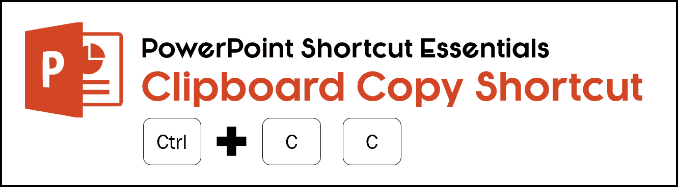 To open your clipboard copy feature hit Ctr + C C on your keyboard