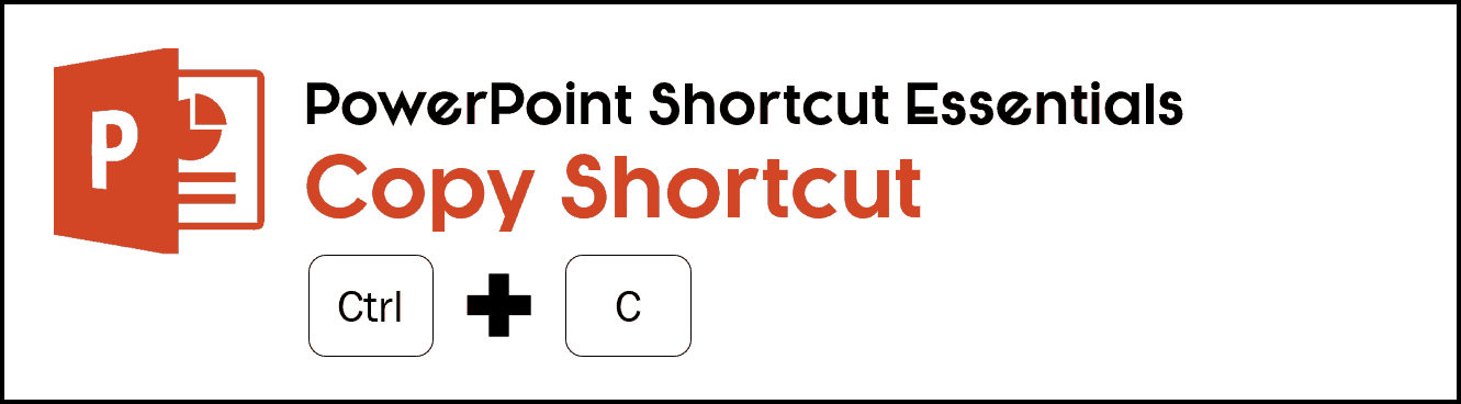 the keyboard shortcut for copy is Ctrl + C on your keyboard