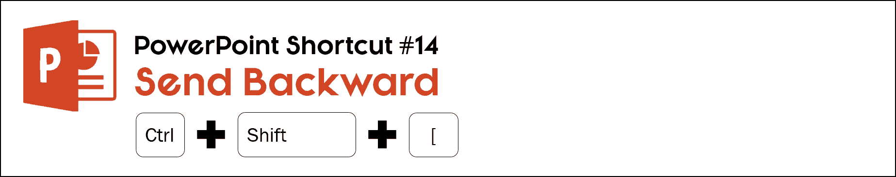 To send an object backwards one layer, hit the control plus shift plus left bracket key