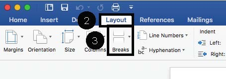 How to Add Different Page Numbers to Different Sections