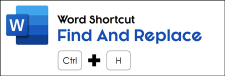 Hit control plus H on your keyboard to open find and replace in Word
