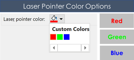 Red-Green-and-blue-laser-pointer-color-options