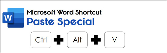 Hit Control plus Alt plus V to open the paste special dialog box to convert your image to text