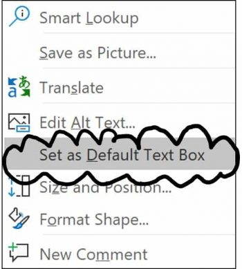 Set your font styles as the default for your text boxes so the correct font styles show up in your presentation